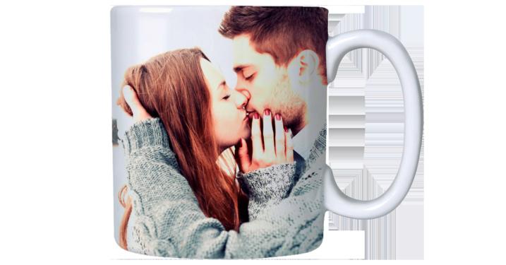 Caneca Personalizada Com Foto Para Presente De Dia Dos Namorados Por