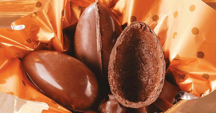 Ovo de Páscoa Trufado de 350g por APENAS R$34,90!!! Sabores: Tradicional, Kit Kat, Beijinho, Chocolate Branco, Amendoim, Paçoca e Bicho de Pé!